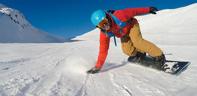 Snowboard-Anfänger-Kurs